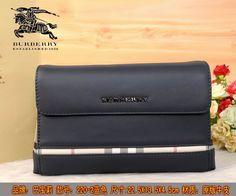 Burberry Clutch Bag 220 Blue