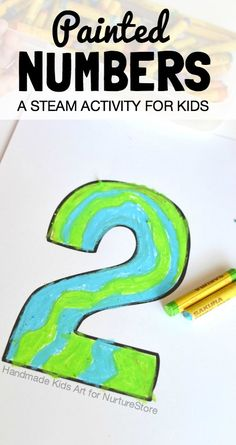 STEAM art and numbers project