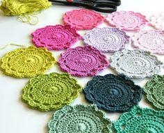 Flower Power Crochet Granny Square | AllFreeCrochetAfghanPatterns.com