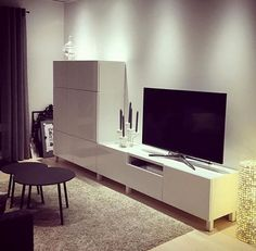 Living Room Ideas Tv Lovely Banc Tv Besta Inspirant S Besta Tv Schrank Tv Best Furniture Tv Tv Ikea, Ikea Tv Unit, Condo Living Room, Home And Living, Ikea Tv Stand, Tv Bench, Tv Wall Decor, Tv Furniture, Tv Unit Design