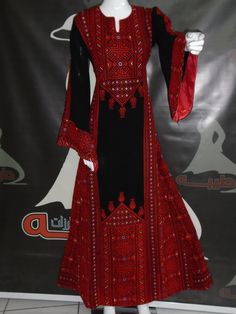 Afghan Clothes, Afghan Dresses, Lovely Dresses, Simple Dresses, Balochi Dress, Arabic Dress, Palestinian Embroidery, Abaya Fashion, Embroidery Dress