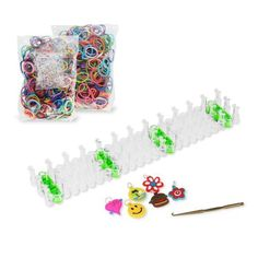 Kids' Jewelry Making Kits - Chromo Inc Starburst Loom Band Kit with Loom Board 600 Xtra Strength Loom Bands 6 Assorted Charms SClips and Loom Tool in Retail Packaging >>> Read more reviews of the product by visiting the link on the image.