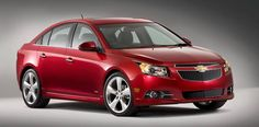 2017 Exclusive Lipstick Red Chevy Cruze...............yes she'd love a car in Lipstick Red