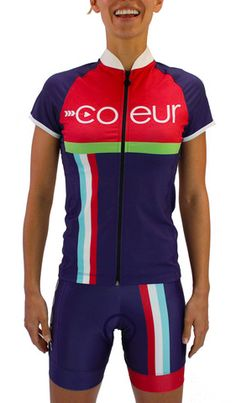 b2beebd0f Women s cycling kit from Coeur Sports in Monaco Design Triathlon Shorts