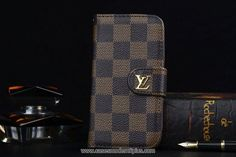 Luxury iPhone 6/6S Plus Wallet Best Case LV PU Coffee