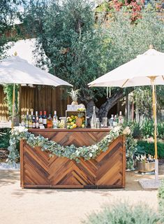 Featured Photographer: Kara Miller Photography; Wedding bars ideas.