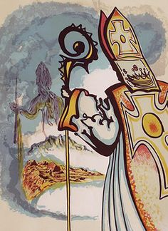 Ivanhoe Suite: King Richard 1977 by Salvador Dali - Lithograph on Paper
