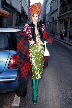 Rosie Huntington-Whiteley for 'Harper's Bazaar UK' March 2014 | Take a Quick Break