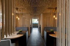 This one is interesting! Me like. YOD Design Lab have designed the Odessa Restaurant located in Kiev, Ukraine.