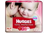 Huggies Total Protection Medium Size Diapers At Rs.624