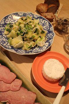 before breakfast: breakfast: my daily companions with Anko(Azuki bean jam) & corn flakes, tea bread, w…