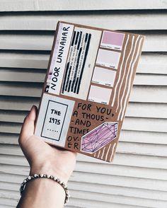 Art journal cover pastel aesthetics // creative craft, tumblr worthy inspiration //