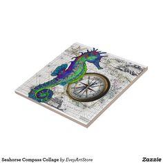 Seahorse Compass Col
