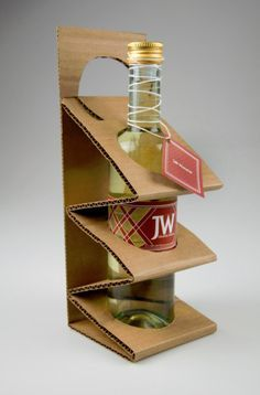 18 Cool Ideas for Paper and Cardboard Packaging, фото № 18 Packaging Carton, Cool Packaging, Bottle Packaging, Brand Packaging, Packaging Ideas, Cardboard Display, Cardboard Packaging, Packaging Inspiration, Bottle Design