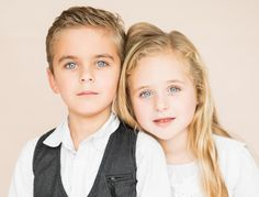 Fraternal twins boy and girl