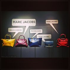 talking bags,pinned by Ton van der Veer #display #merchandising #window