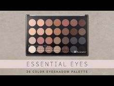 28 Color Essential Eyeshadow Palette | BH Cosmetics