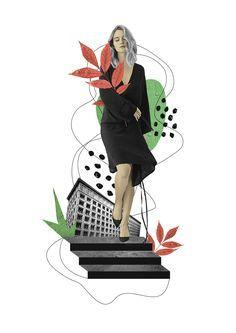 Fashion Collages \ Katia Kozyreva 2018 on Behance Collage Illustration, Illustrations, Fashion Collage, Collages, Behance, Illustration, Collage, Illustrators