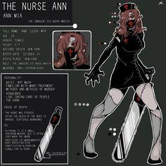 Creepypasta: Nurse ANN by yaguyi.deviantart.com on @deviantART