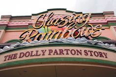 Chasing Rainbows museum tells Parton's life story. #dollywood #museum