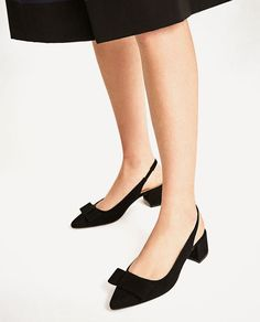 Image 6 of HIGH HEEL BACKLESS SHOES from Zara