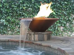 Fire has never been cooler! Mixing fire and water creates a daring effect. #MidAmericaSales http://www.midamericasales.net/