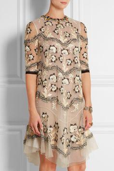 Biyan|Robe en tulle à ornements Lolita|NET-A-PORTER.COM