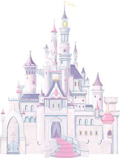 Create a personal palace with Disney Princess Castle Wall Decal! With spires and towers, this Disney Princess Castle Wall Decal brings the magic of Disney to your smooth surfaces.