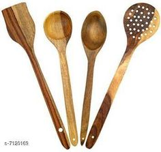 Ladles & Spatula CUTLARY SET OF 4 Sizes:  Free Size Country of Origin: India Sizes Available: Free Size *Proof of Safe Delivery! Click to know on Safety Standards of Delivery Partners- https://ltl.sh/y_nZrAV3  Catalog Rating: ★4.3 (8379)  Catalog Name: Free Gift Graceful Cutlery Sets CatalogID_1136604 C135-SC1655 Code: 861-7120169-