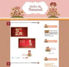 Cantinho do blog Layouts e Templates para Blogger: Encomenda entregue Atelier Nanandi