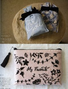 Higuchi Yumiko Small Gift of 1 Color Embroideries by PinkNelie