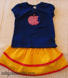 Salty Cinderella: DIY Princess Outfits for Disney World: When you need a comfy alternative to itchy polyester