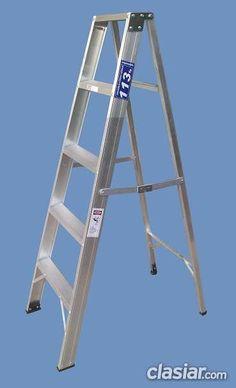 Escalera Tijera con Apoyo superior de Aluminio Altura 1.50 mts 5 escalones http://floresta.clasiar.com/escalera-tijera-con-apoyo-superior-de-aluminio-altura-1-50-mts-5-escalones-id-259730
