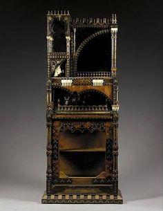 Cabinet by Carlo Bugatti, early 20th century