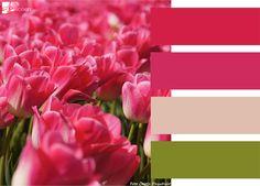Kleurenkaart Tulpen  Made by APwonen