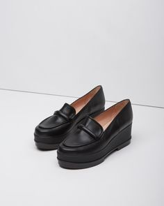 Robert Clergerie Yokole Wedge Loafer | La Garçonne