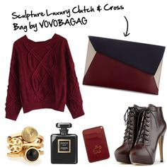 Let's fall to Modern http://www.polyvore.com/sculpture_woman_luxury_clutch_cross/thing?context_id=138980983&context_type=collection&id=122262690