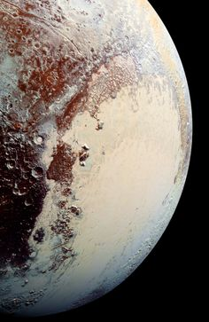 Hubble Space Telescope Pluto, as imaged by the New Horizons spacecraft. Credit: NASA/Johns Hopkins University Applied Physics Laboratory/Southwest Research Institute