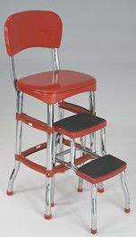 I still have ours but it only had one step.  Favorite chair to sit on when little!