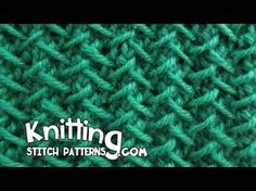 Knitting Stitch Patterns: Fancy Herringbone