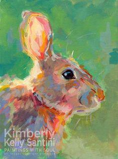 """Jack"" - Original Fine Art for Sale - © Kimberly Santini"