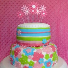Hannah's baby shower cake--coconut cake with raspberry filling and coconut buttercream