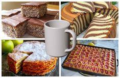 Hrnčekový jablčník bez vajecPotrebujeme:Tortovú formu s priemerom 20 cm1 šálka (160 g) krupice1 šálka (130 g) hladkej múky1 šálka (180 g) kryštálového cukru1 a pol ČL prášku do pečiva5 jabĺk30 g masla1 šálka (200 ml) … No Bake Cake, French Toast, Bread, Apple, Baking, Breakfast, Hampers, Apple Fruit, Morning Coffee