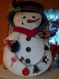 Resultado de imagen para muñeco de nieve de navidad en foami