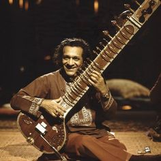 Ravi Shankar - classically trained sitarist exposed the instrument (and Indian music, in general) to the west via his relationship with the Beatles.