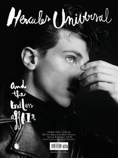 Hercules Magazine Spring-Summer 2015 Covers, Jeremy Irvine, Alessio Pozzi, Austin Scoggin