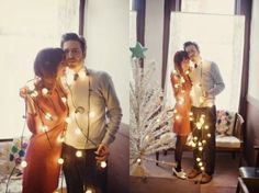 Elsie & Jeremy's Cozy, Christmas Engagement Christmas Engagement, Winter Engagement, Engagement Session, Engagement Photos, Engagements, Christmas Maternity, Christmas Photo Cards, Christmas Photos, Holiday Cards