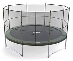 Amazon.com : ACON Air 4.6 Trampoline 16' with Enclosure FREE SHIPPING : Sports & Outdoors 800# weight limit ?!