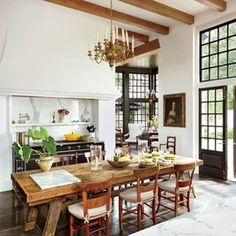 Perfect Kitchens for Holiday Cooking and Gathering Photos | Architectural Digest