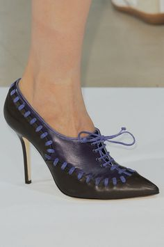 52b2fb8c01641 It s Shoe Time  See the Best Pairs From the Fall  13 Runways. Popsugar Fashion WeekLacerShoes ...